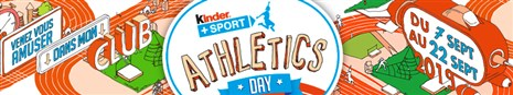 Journée Kinder+Sport Athletics Day